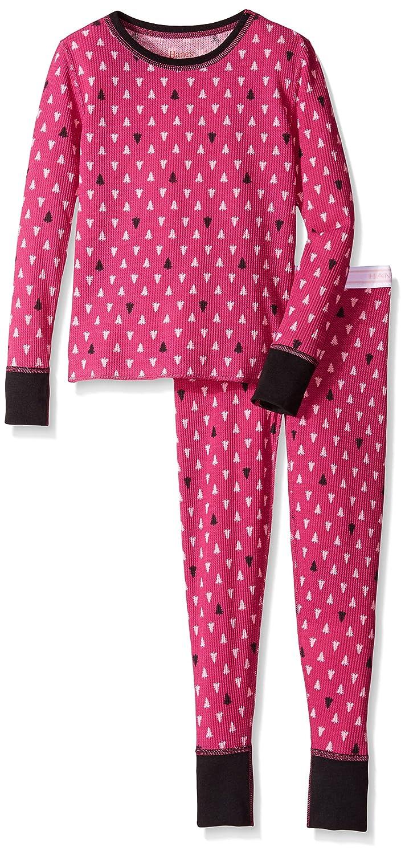 Hanes Girls' Thermal Underwear Set Hanes Girls 7-16 Thermals 33600