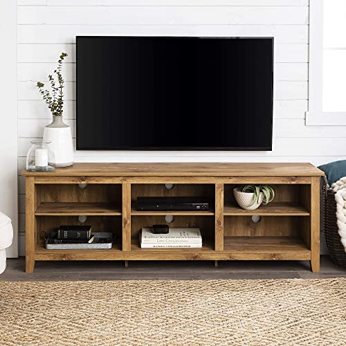 Home Accent Furnishings Tucker 70 Inch Television Stand in Barnwood