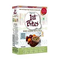1st Bites - Ragi, Strawberry & Apple Powder (10 Months - 24 Months) Stage - 3, 300g