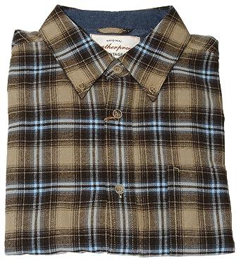 074a68489d Weatherproof Vintage Men's Lightweight Plaid Flannel Shirt (X-Large,)  (Medium)