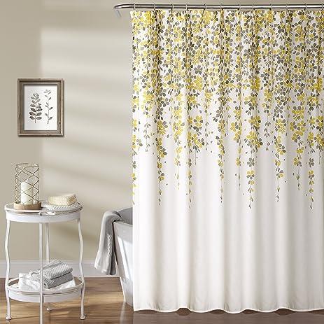 Lush Decor Lush Décor Weeping Flower Shower Curtain, 72u0026quot; X 72u0026quot;,  ...