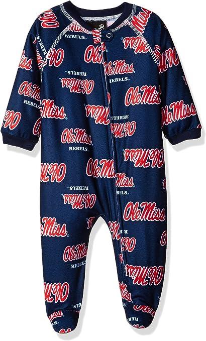 NCAA Boys NCAA Newborn /& Infant Raglan Zip Up Coverall