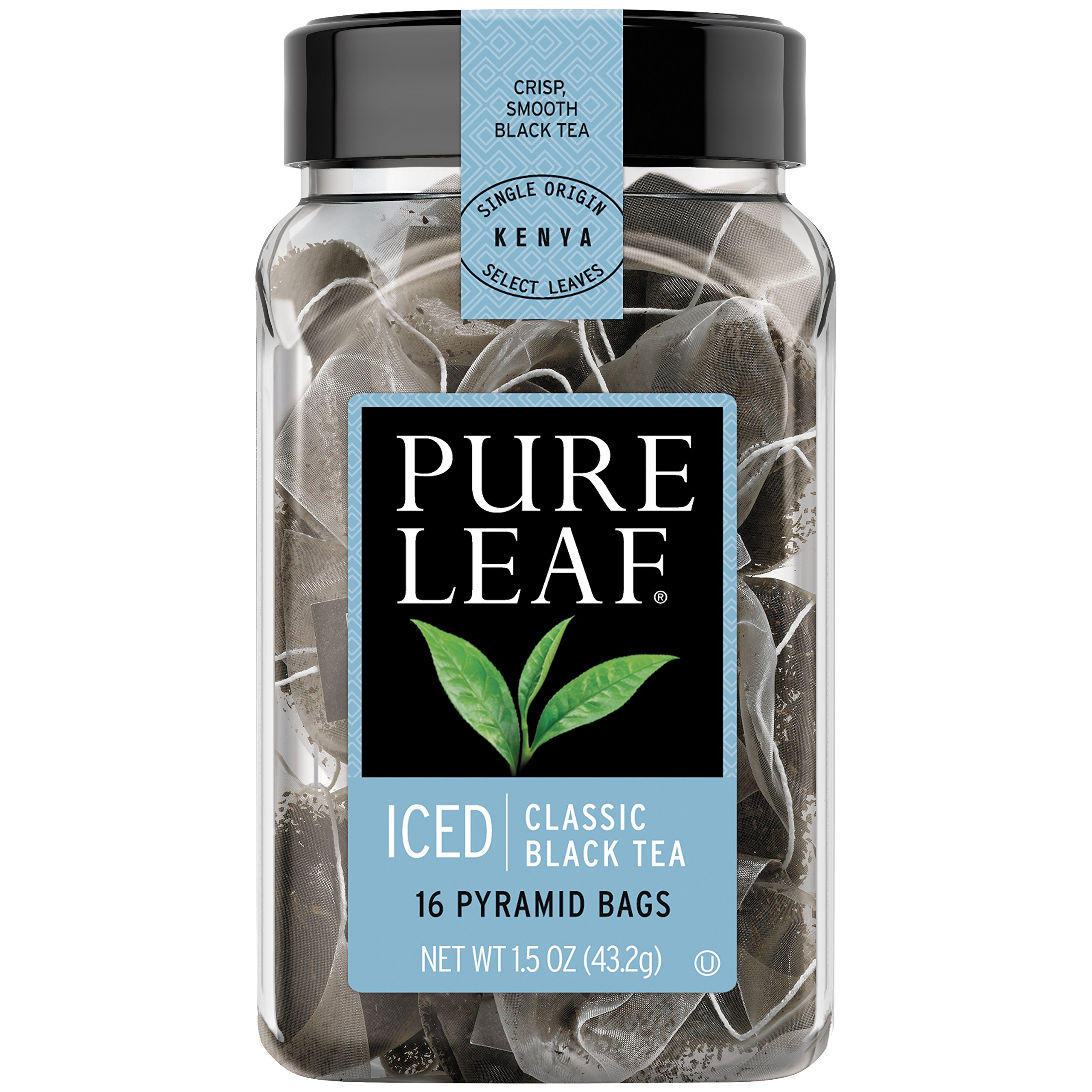 Pure Leaf Iced Tea Bags, Classic Black Tea, 16 ct (Pack of 6) by Pure Leaf