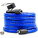 Camco 22911 25' Taste Pure Heated Drinking Water Hose with Thermostat - Lead Free