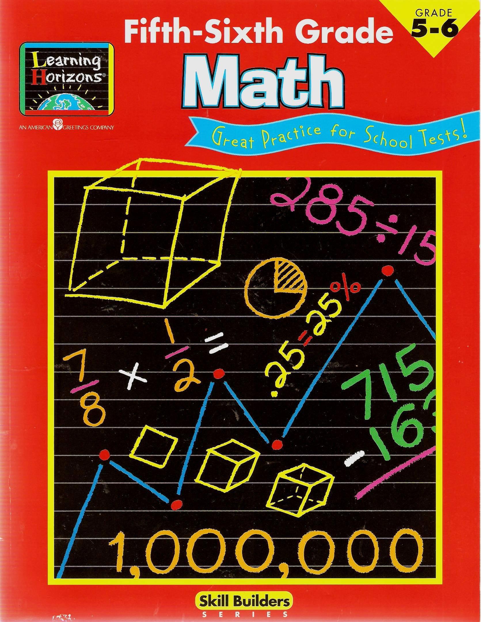 Read Online Fifth-Sixth Grade Math ebook