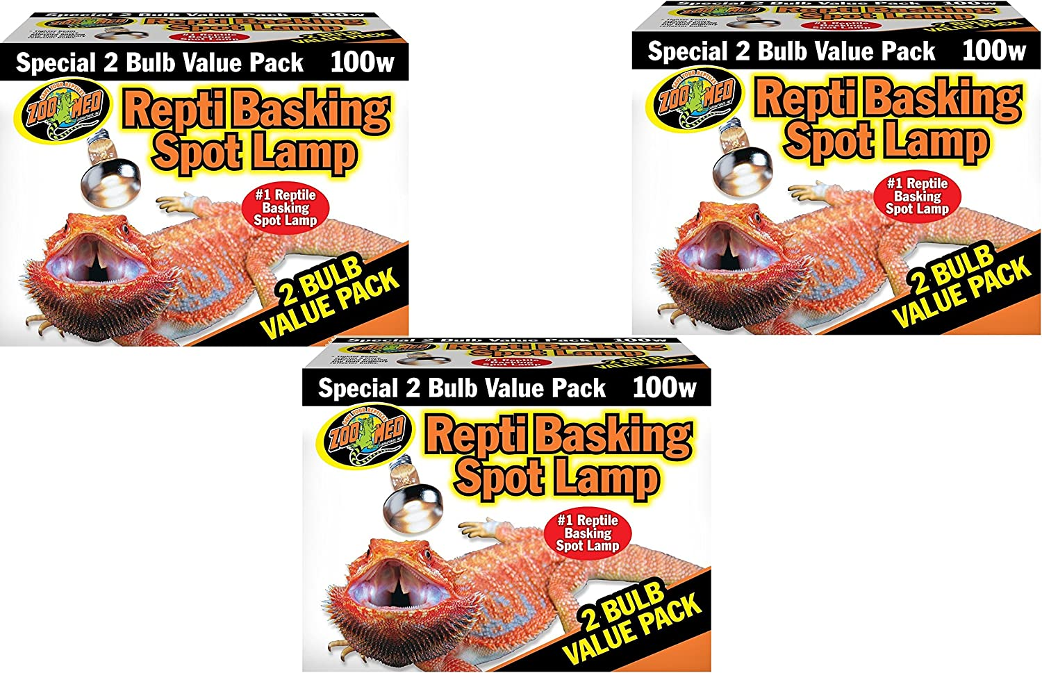 Zoo Med Basking Spot Lamps 100 Watt