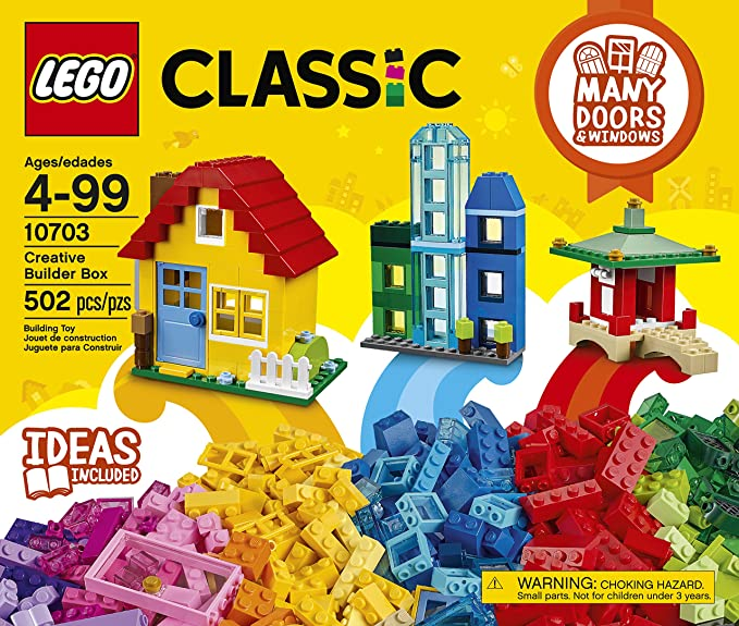 Amazon.com: LEGO Classic Creative Builder Box 10703 (Exclusive ...