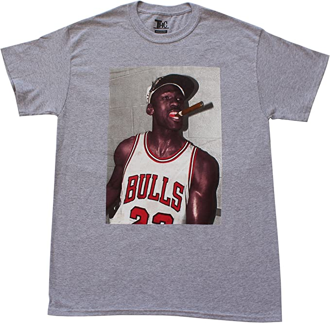 THC Chicago Bulls Michael Jordan Cigar Champion camiseta para hombre – (varios colores): Amazon.es: Ropa y accesorios