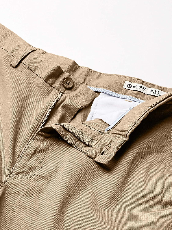Haggar Men's Casual Pants Khaki