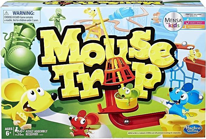 Hasbro Ratón Trampa Juego: Amazon.es: Juguetes y juegos