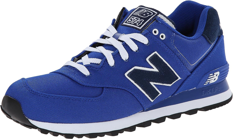 New Balance, Hombres, Entrenador, 574 Piqué Polo Pack, Color Azul, Talla 49 EU: Amazon.es: Zapatos y complementos