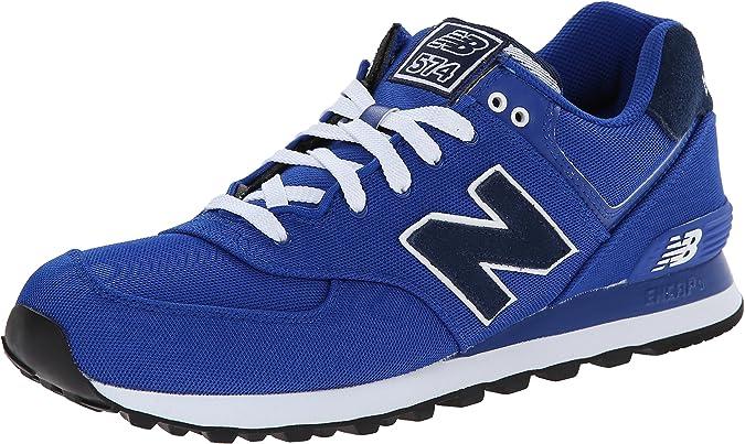 New Balance 574 Pique Polo Pack, Zapatillas para Hombre, Azul, 40 ...