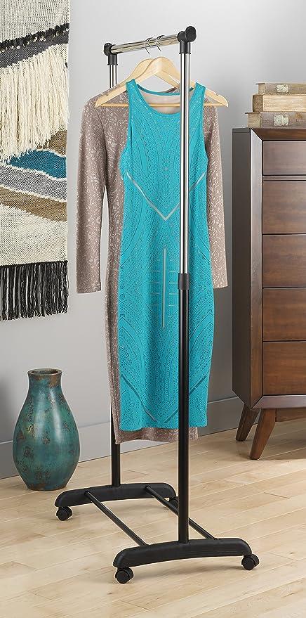 Amazon.com: Estante ajustable para prendas de Whitmor, 6024 ...