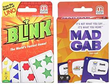 Buy Mattel Reinhards Staupe S Blink The World S Fastest Card Game Multi Color Mad Gab Cards Online At Low Prices In India Amazon In