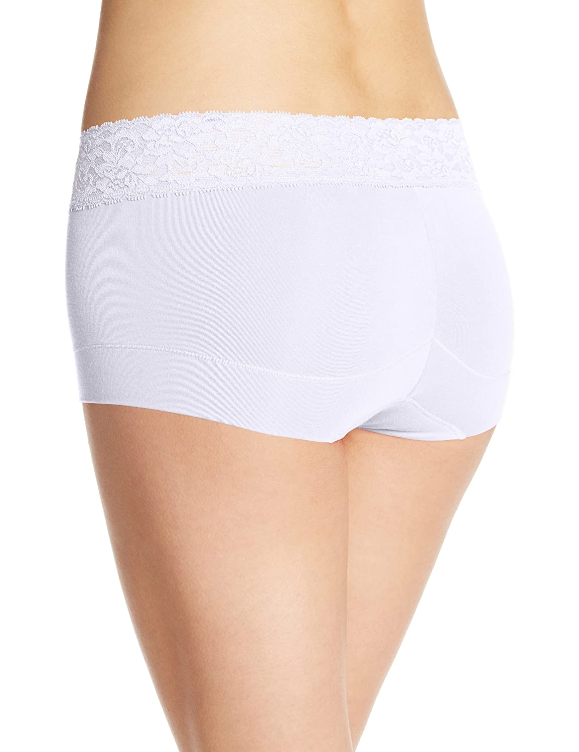 8be3b4bc8 Maidenform Women s Dream Cotton with Lace Boyshort at Amazon Women s  Clothing store