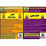 RADONGROW pH Up and pH Down Combo,700 g, White