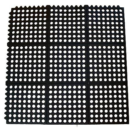 Amazon Com New Star 1 Pc Heavy Duty Black 36x36 Inch Interlocking