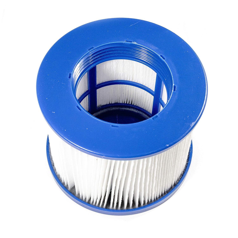 ALEKO HTFL Water Filter Cartridge for Inflatable Hot Tub Spa Blue