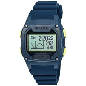[フリースタイル]Freestyle 腕時計 SHARK タイド250 デジタル 100m防水 タイドグラフ シリコンベルト ネイビー 10025731 【正規輸入品】