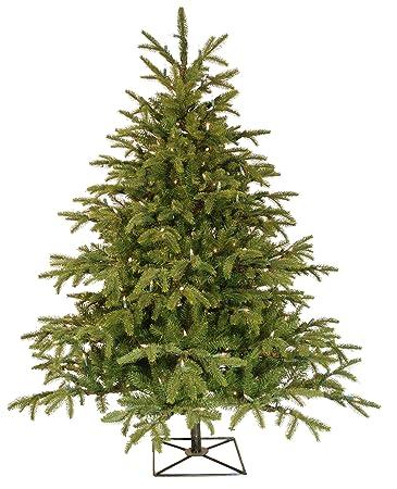Barcana 4.5-Foot Alaskan Deluxe Fir Christmas Tree with 250 Clear Mini - Amazon.com: Barcana 4.5-Foot Alaskan Deluxe Fir Christmas Tree With
