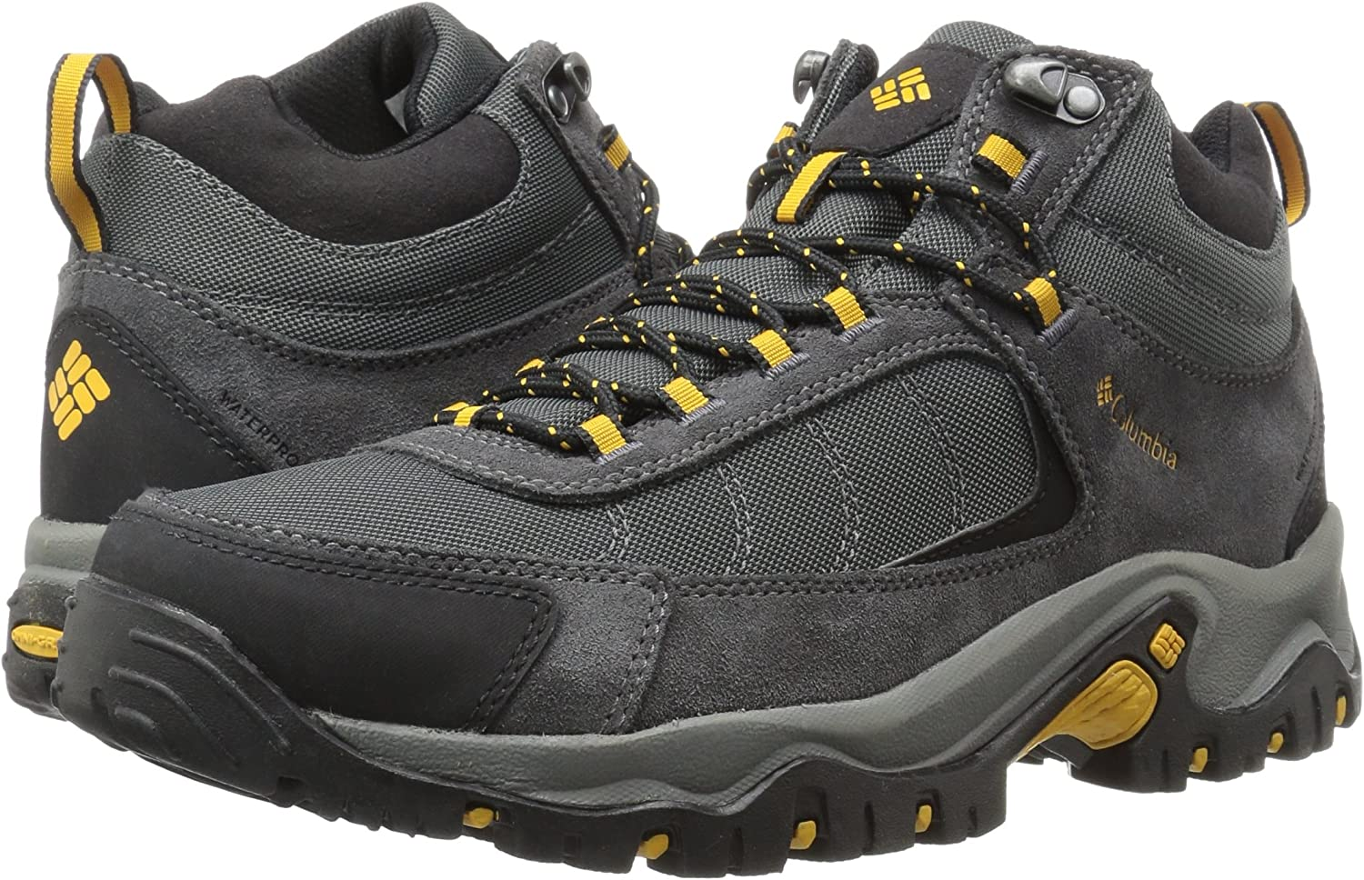 Breathable Microfleece Lining Columbia Mens Granite Ridge Mid Waterproof Boot
