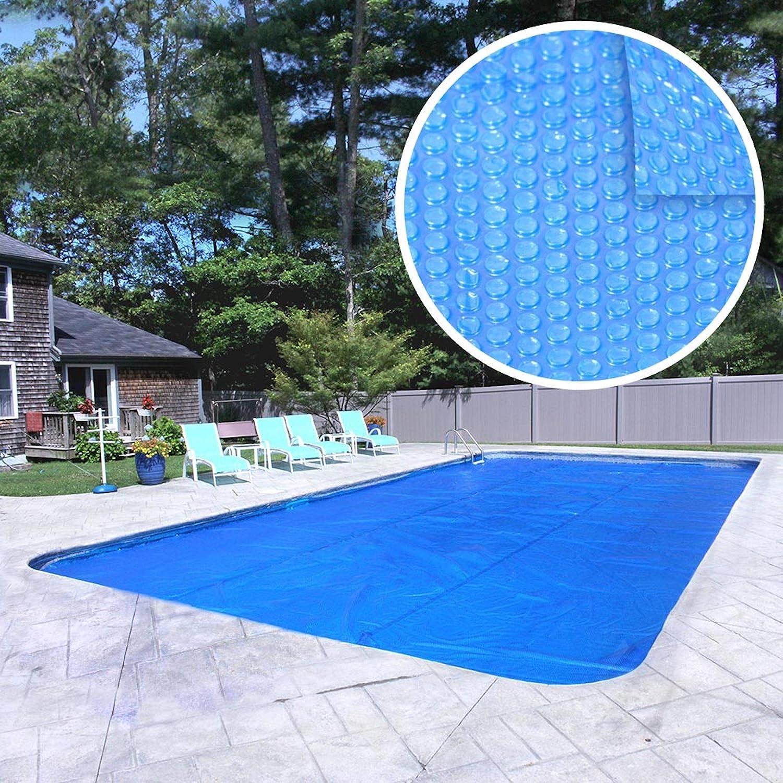 Amazon Com Robelle 16 X 32 Rectangular Heavy Duty 8 Mil Blue Solar Cover Boxed 1632rs 8 Box Garden Outdoor