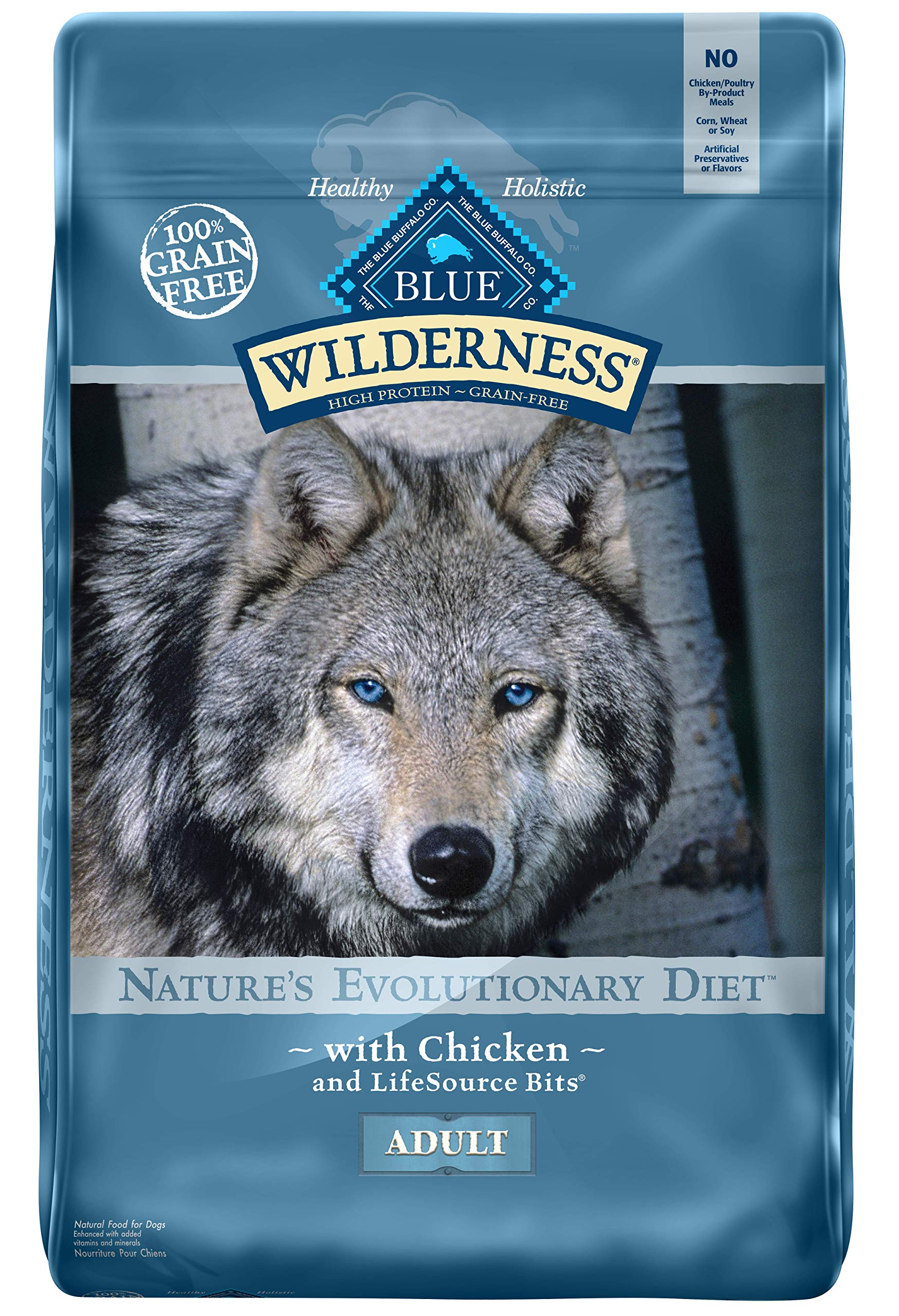 Blue Wilderness High Protein Grain Free Dog Food