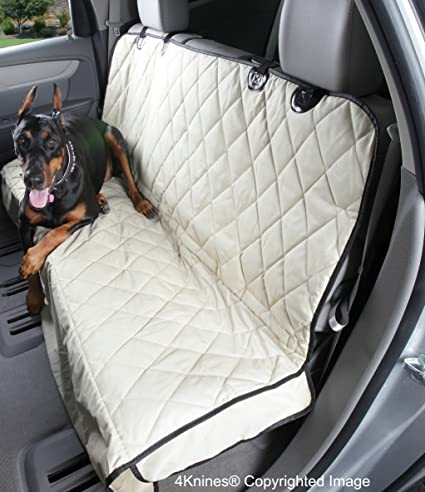 4Knines Dog Seat Cover With Hammock For Full Size Trucks And Large SUVs