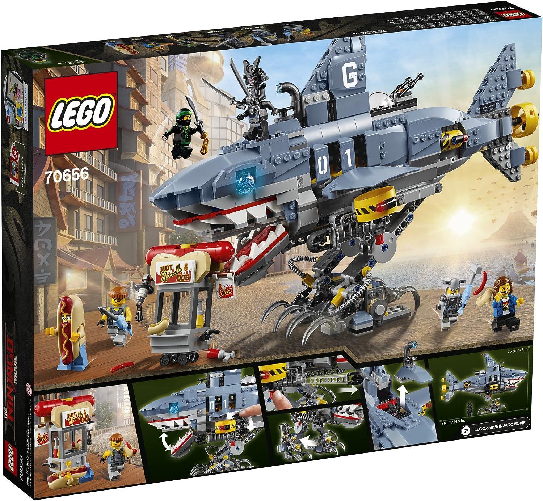 GARMADON Shark Sub Mech 70656 USA Seller Garmadon LEGO Ninjago Movie garmadon