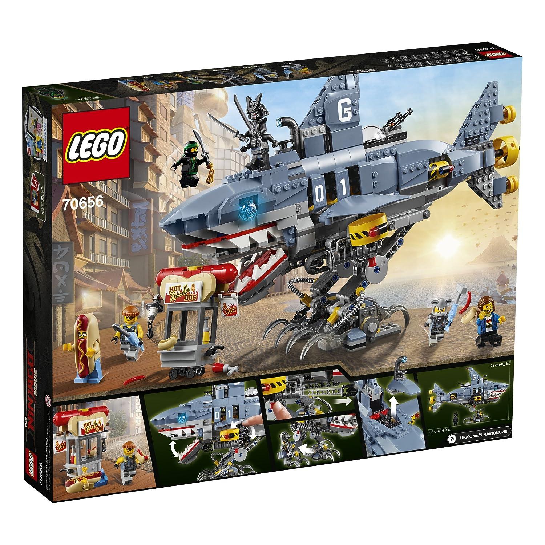 NEW LEGO The Ninjago Movie Garmadon 830 Pieces Building Toy Set ~ 70656
