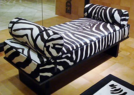 Park Lane Chaise Lounge in Zebra : zebra chaise lounge - Sectionals, Sofas & Couches