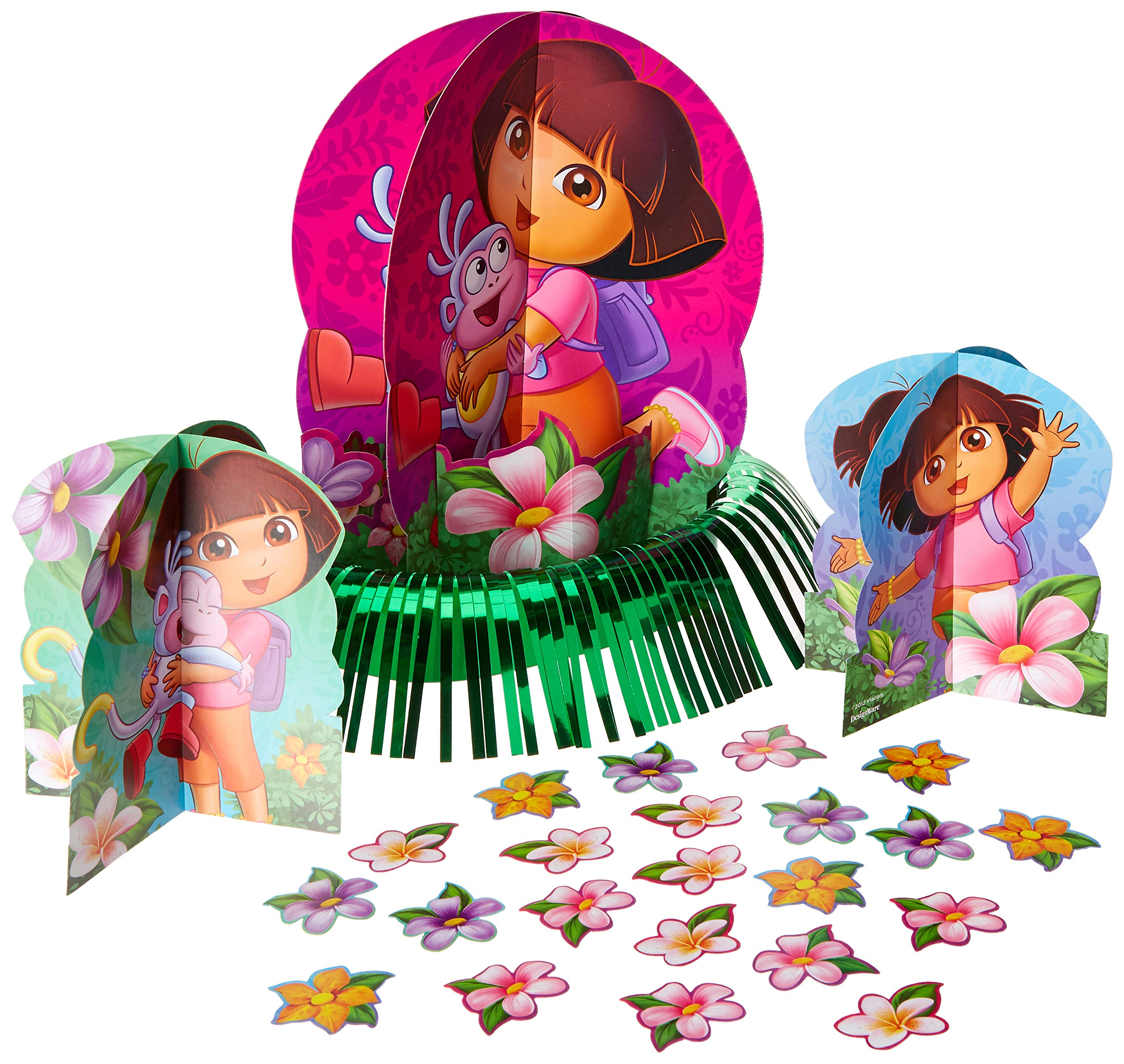 Amazon Com Dora The Explorer And Boots Cupcake Rings 24