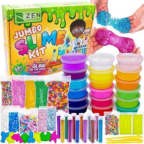 Schleim Set 30 teilig zum selber machen ideales Slime Spielzeug für Kinder