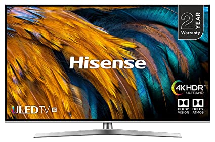 Hisense H50U7BUK 50-Inch 4K UHD HDR Smart ULED TV with Freeview Play (2019)