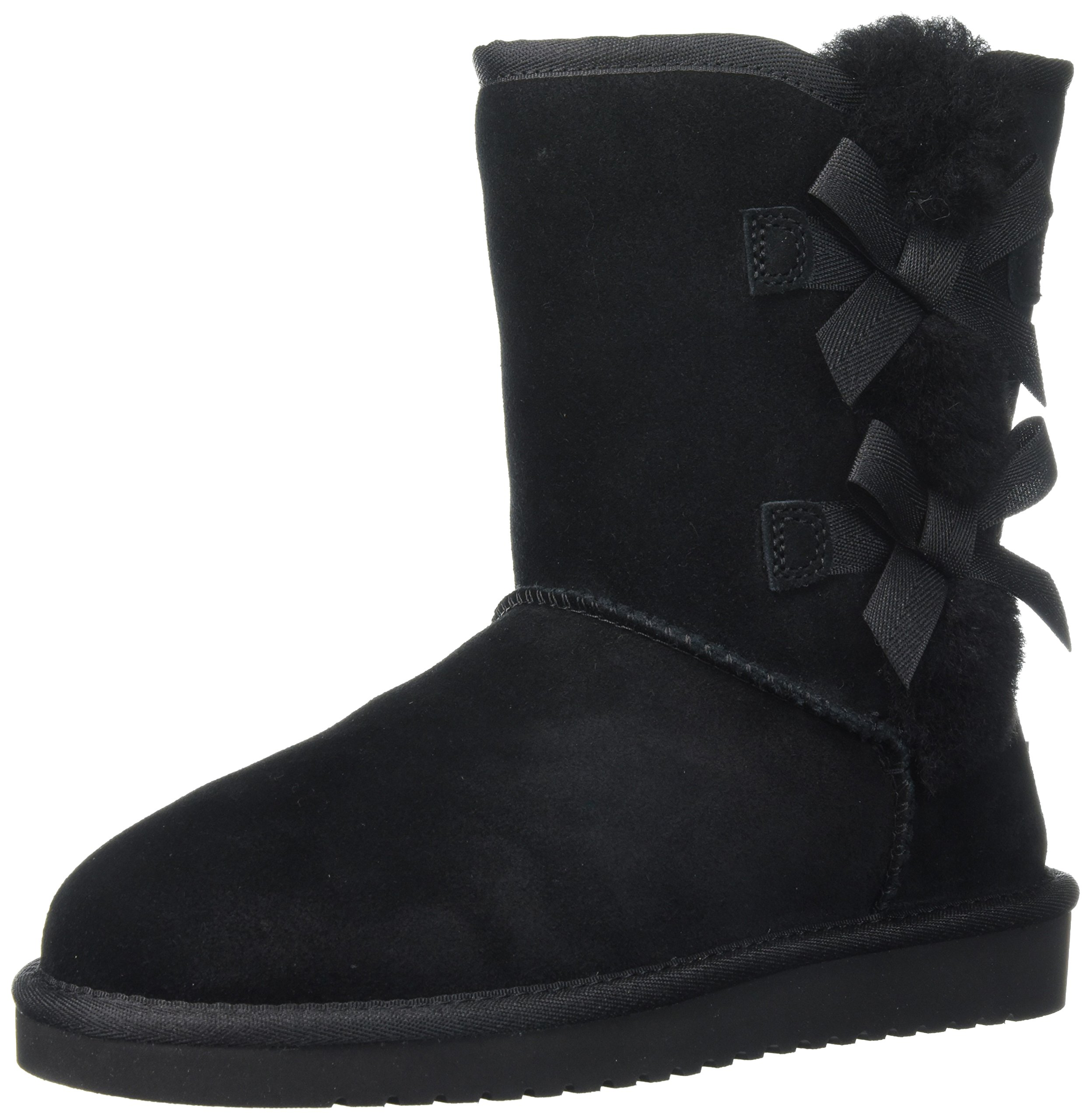 Koolaburra by UGG Women's Victoria Short Fashion Boot, Black/Black/Black, 09 M US