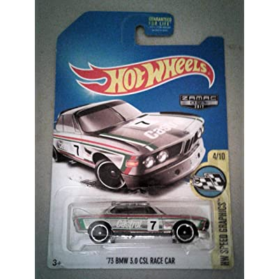 Hot Wheels 2020 HW Speed Graphics '73 BMW 3.0 CSL Race Car Exclusive ZAMAC: Toys & Games