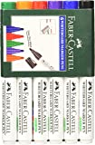 Faber-Castell Whiteboard Market - Pack of 6 (Assorted)