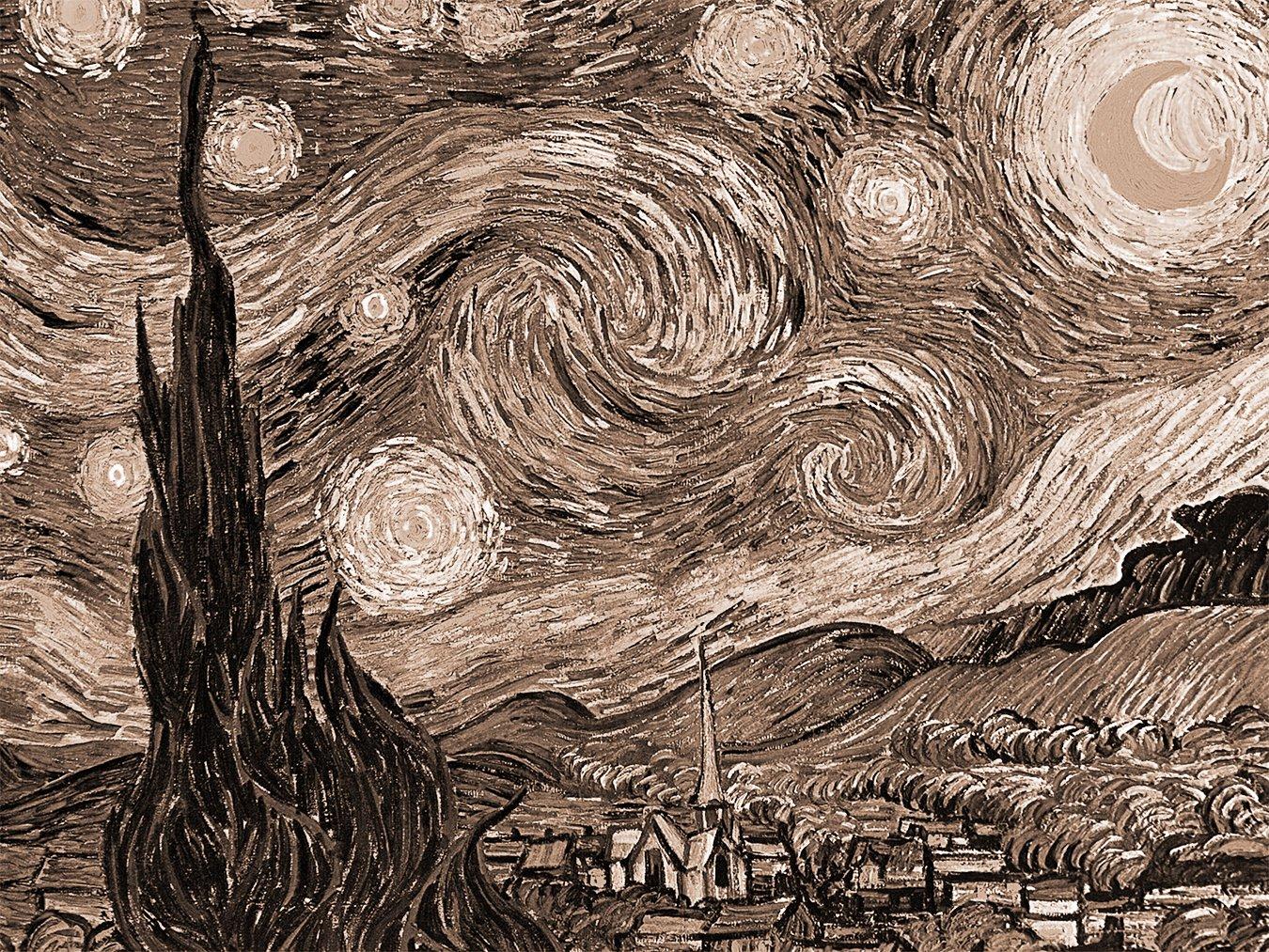 Bilderdepot24 Autoadhesivo Fotomural Vincent Van Gogh
