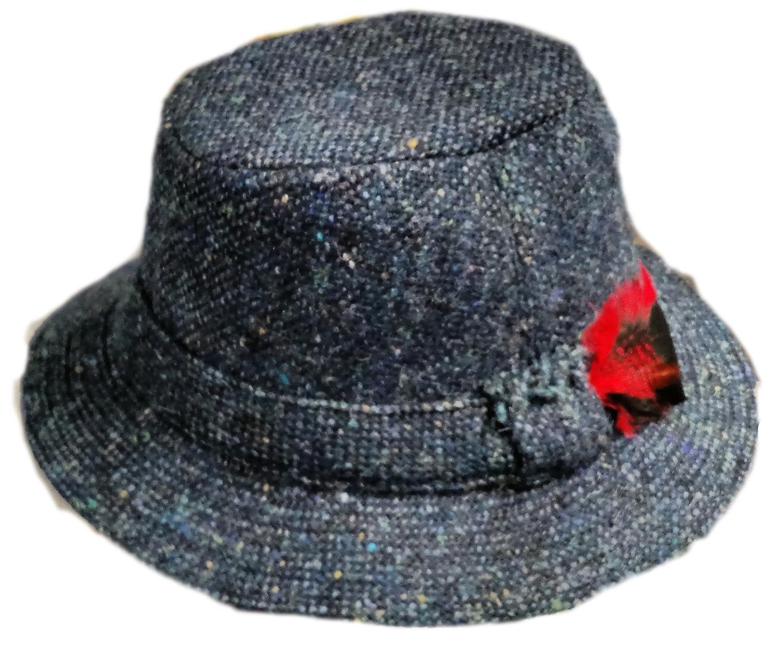 3053e905a38 Fedora Hats Village Hat. Plaid Ascot Mens Hat. Plaid Ascot Mens Hat. Mens  Black Fedora Hat 100 Wool Untouchable Dress 8345
