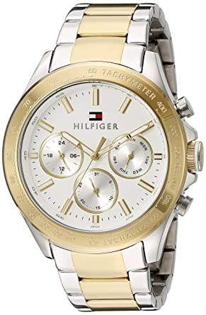1cb3c1e40522 Image Unavailable. Image not available for. Colour  Tommy Hilfiger Analogue  White Dial Men s Watch ...
