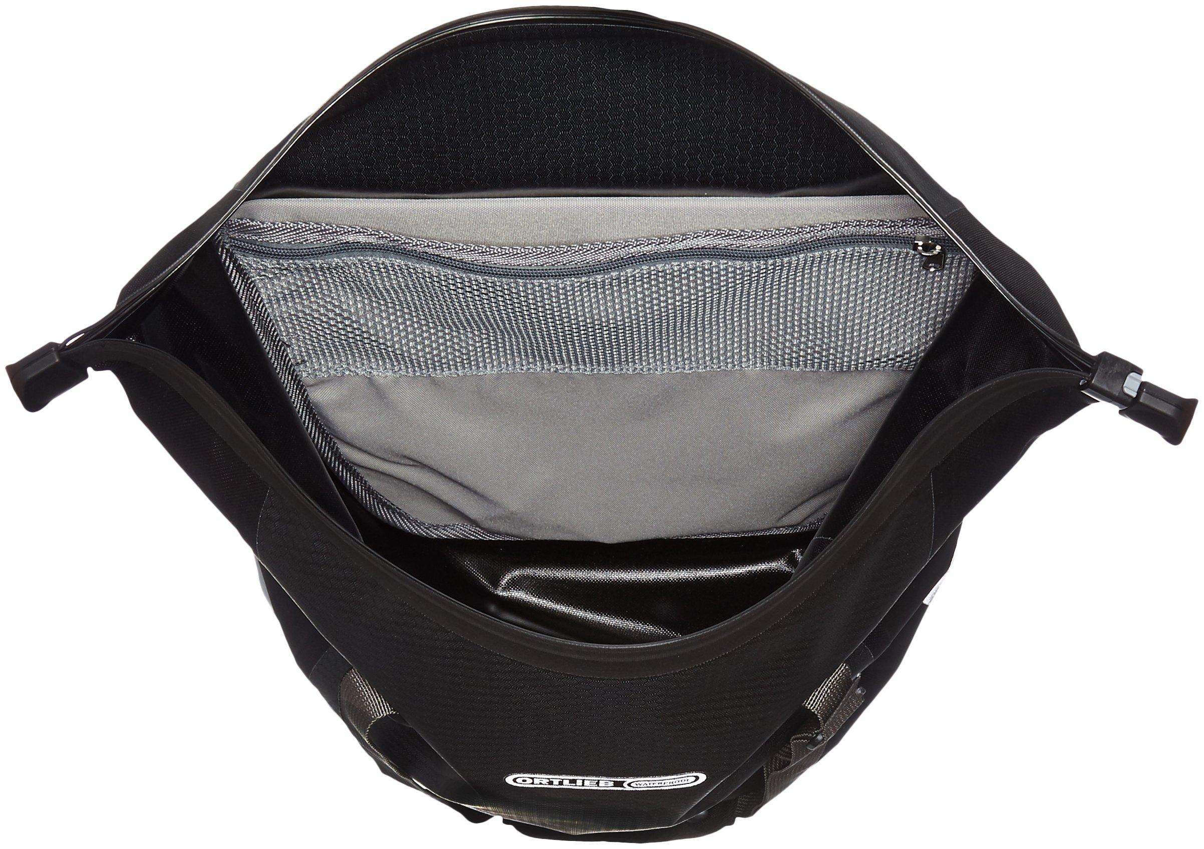 Ortlieb Bike Shopper Pannier: Each, QL2 Hardware, Slate/Black by Ortlieb (Image #5)