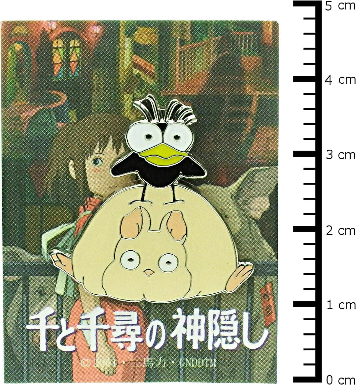 Studio Ghibli pin badge Gigi smile MH-02