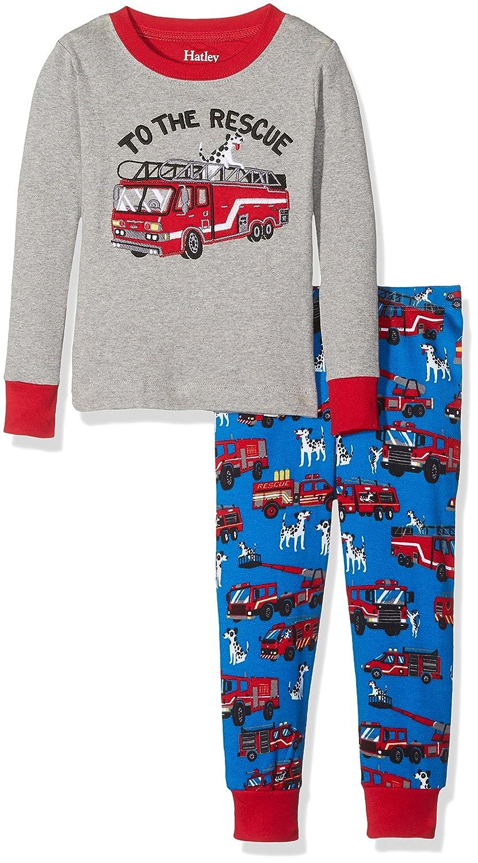 Hatley Long Sleeve Appliqué Pyjama Set, Conjuntos de Pijama para Niños: Amazon.es: Ropa y accesorios