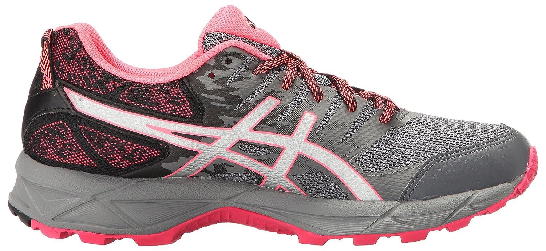 ASICS Women's Gel-Sonoma 3 Trail Runner B01GUF8BGS 8 B(M) US|Carbon/Silver/Diva Pink