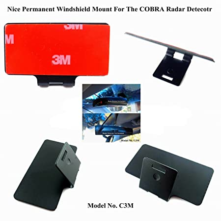 One Nice Permanent Windshield Mount For The COBRA Radar Detector