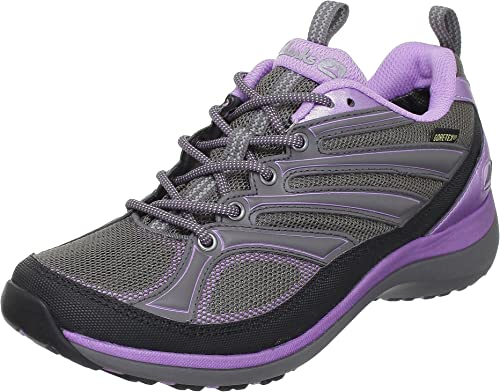 Clarks Womens Wave Fit GTX Shoes Grey