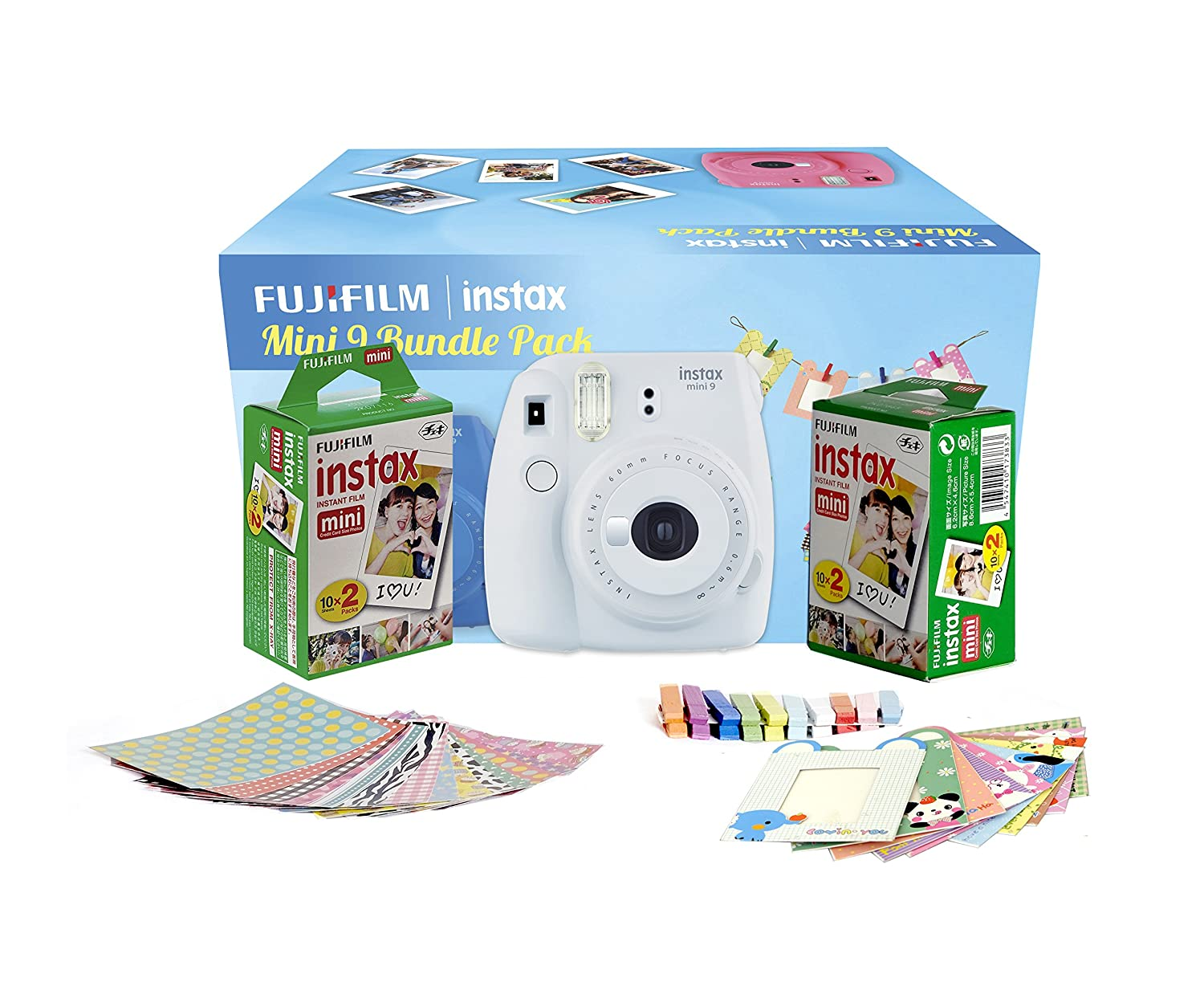 Fujifilm Instax Mini 9 Film Camera (With..