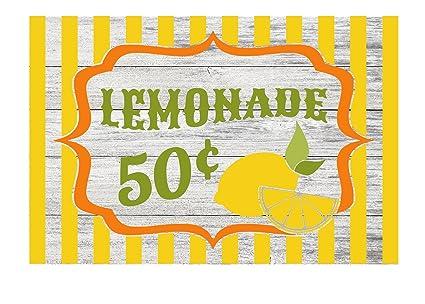 amazon com lemonade stand 50 cents rustic kitchen metal sign 12