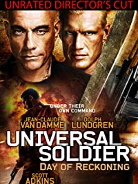 Jean Claude Van Damme Universal Soldier Day Of Reckoning