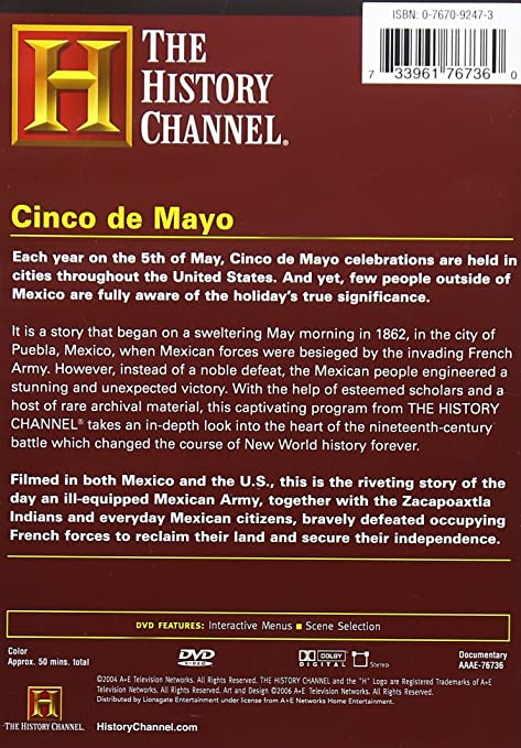 Amazon.com: Cinco de Mayo: History Channel: Movies & TV
